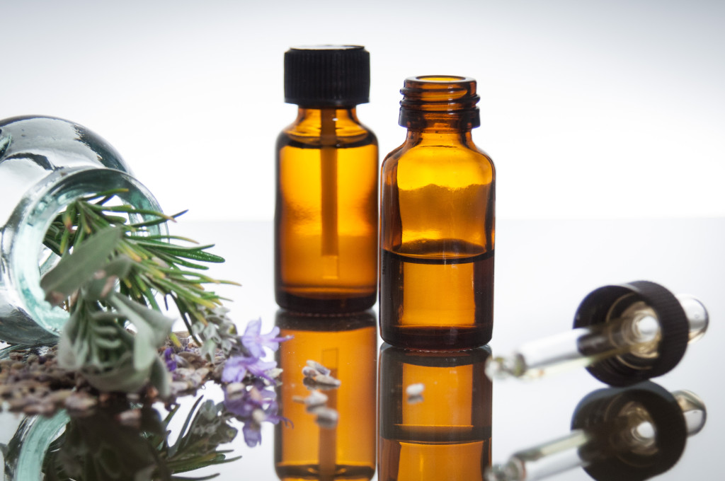 Lavender and Rosemary Oils