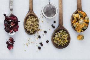 Natural Herbs and Spoons