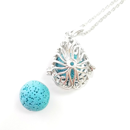 Raindrop Diffuser Necklace