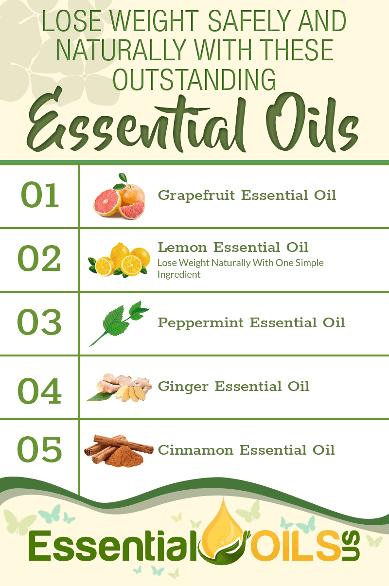 Lose Weight Safely And Naturally With These Outstanding Essential Oils Essential Oils