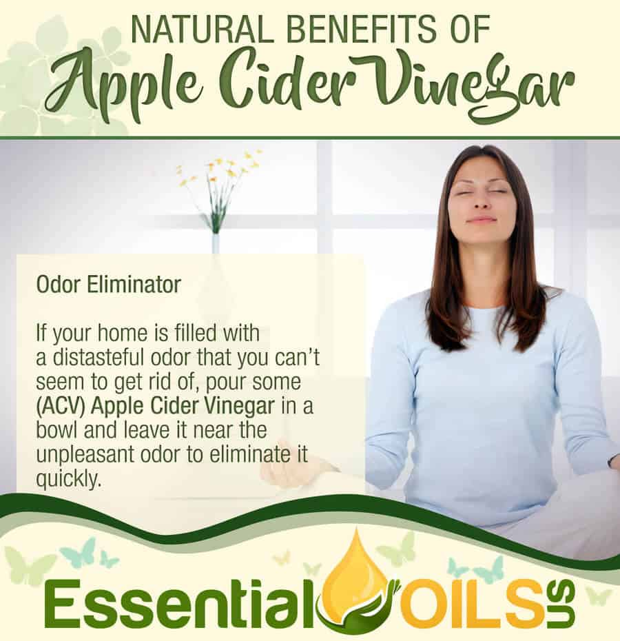 Apple Cider Vinegar Benefits - Odor Eliminator