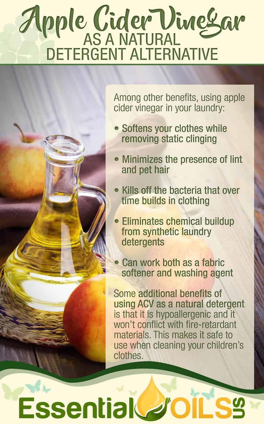 Apple Cider Vinegar in Your Laundry, Why?