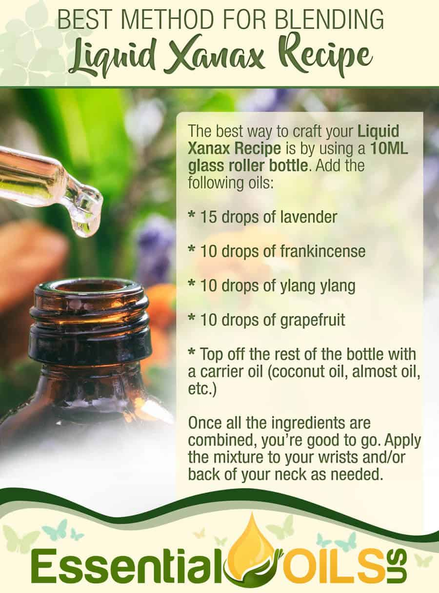 Liquid Xanax Recipe - Blending Essential Oils