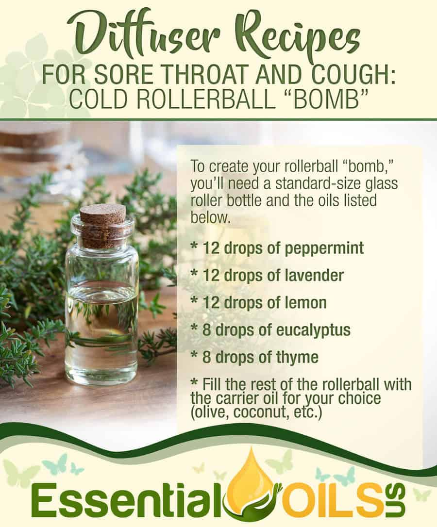 Diffuser Recipes For Sore Throat And Cough