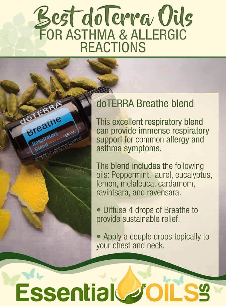doTerra Essential Oils For Asthma And Allergy - doTERRA Breathe