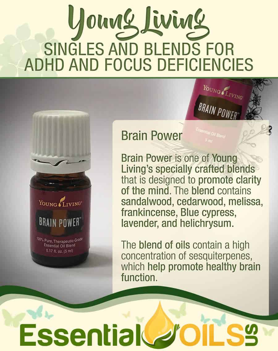 Young Living Essential Oils For ADHD Symptoms - Brain Power