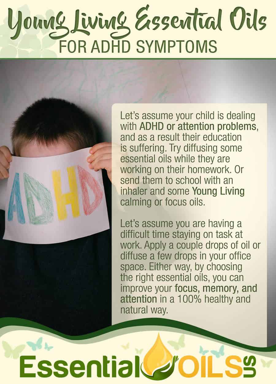 Young Living Essential Oils For ADHD Symptoms