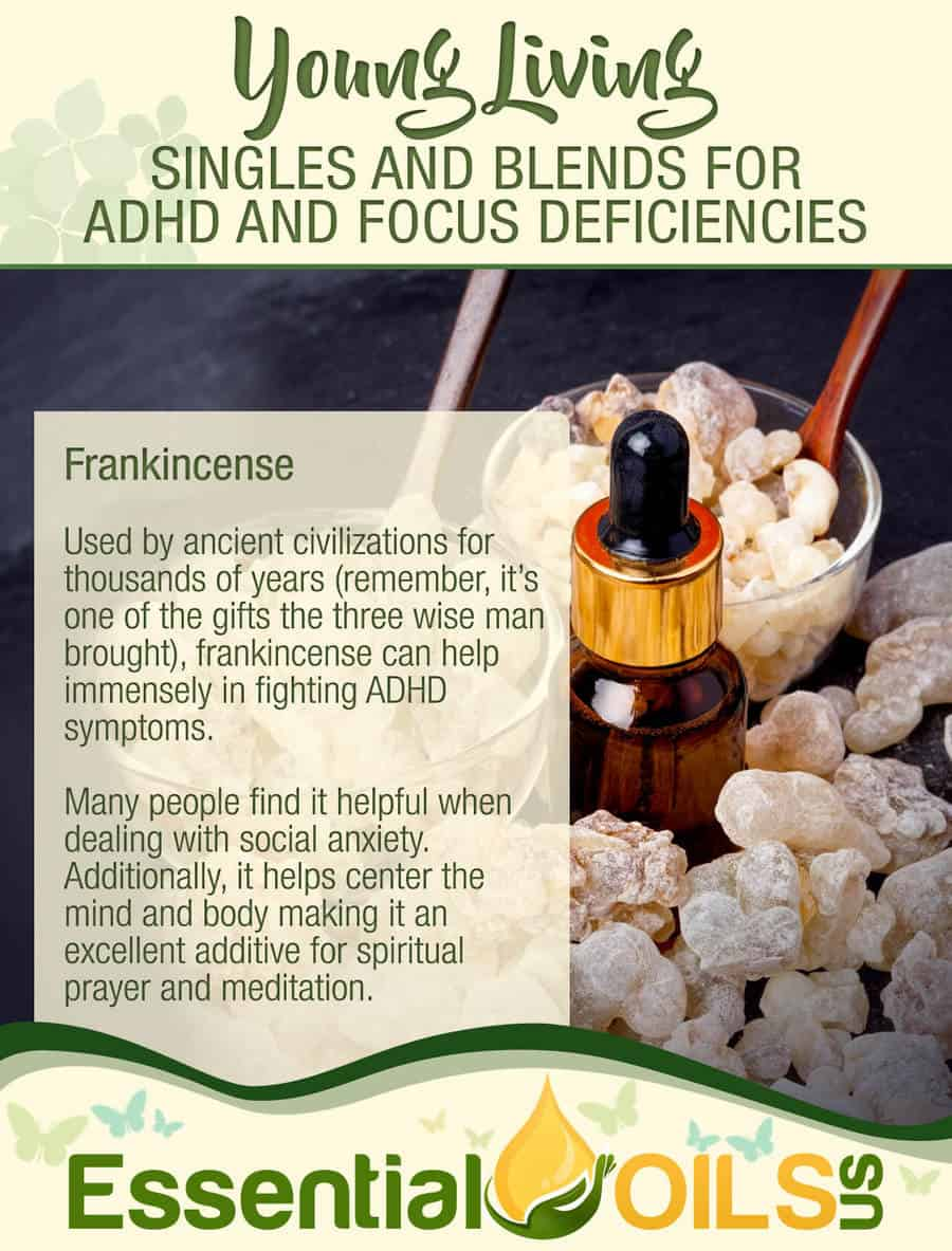 5 Young Living Singles & Blends For ADHD | Essential Oils