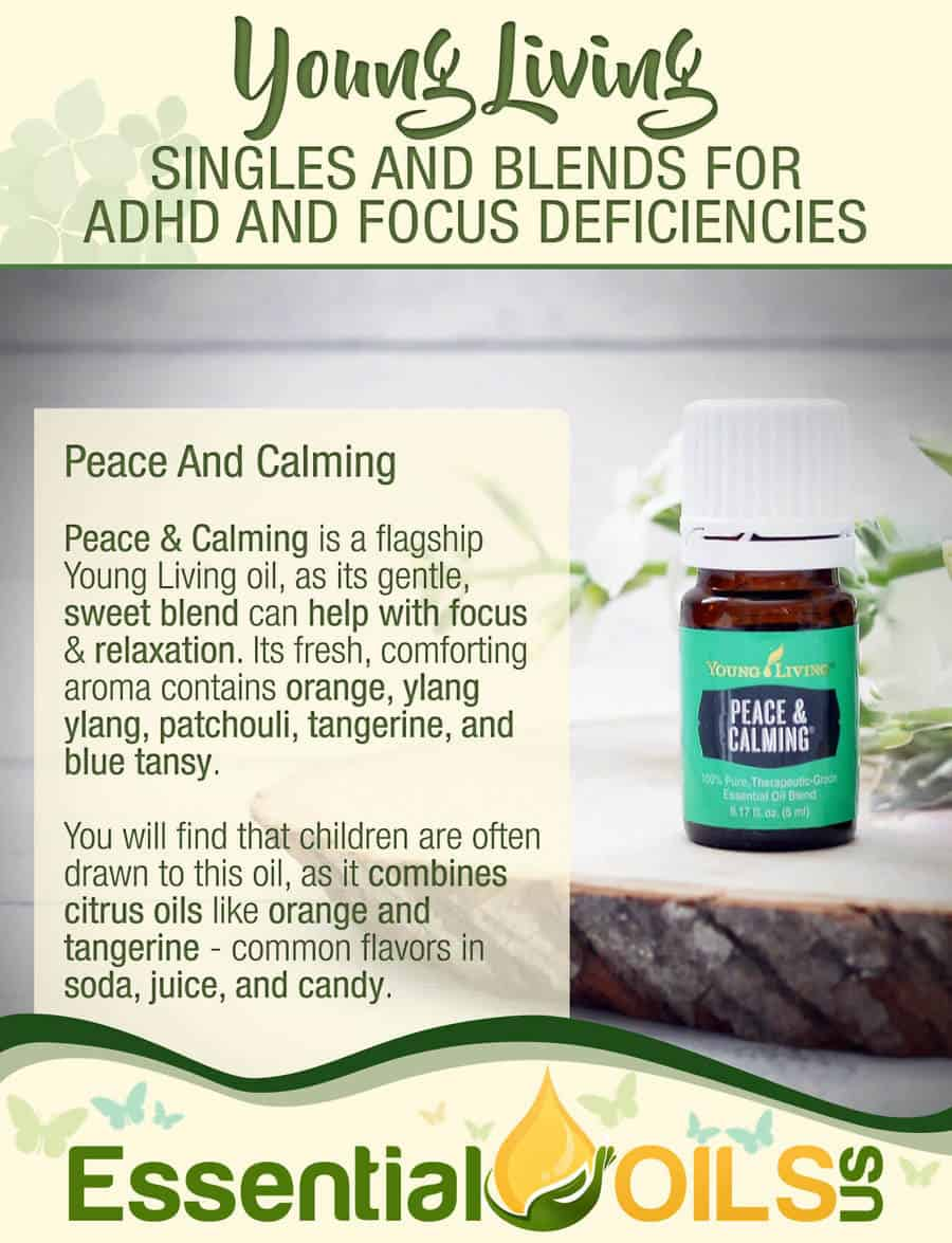 Young Living Essential Oils For ADHD Symptoms - Peace and Calming