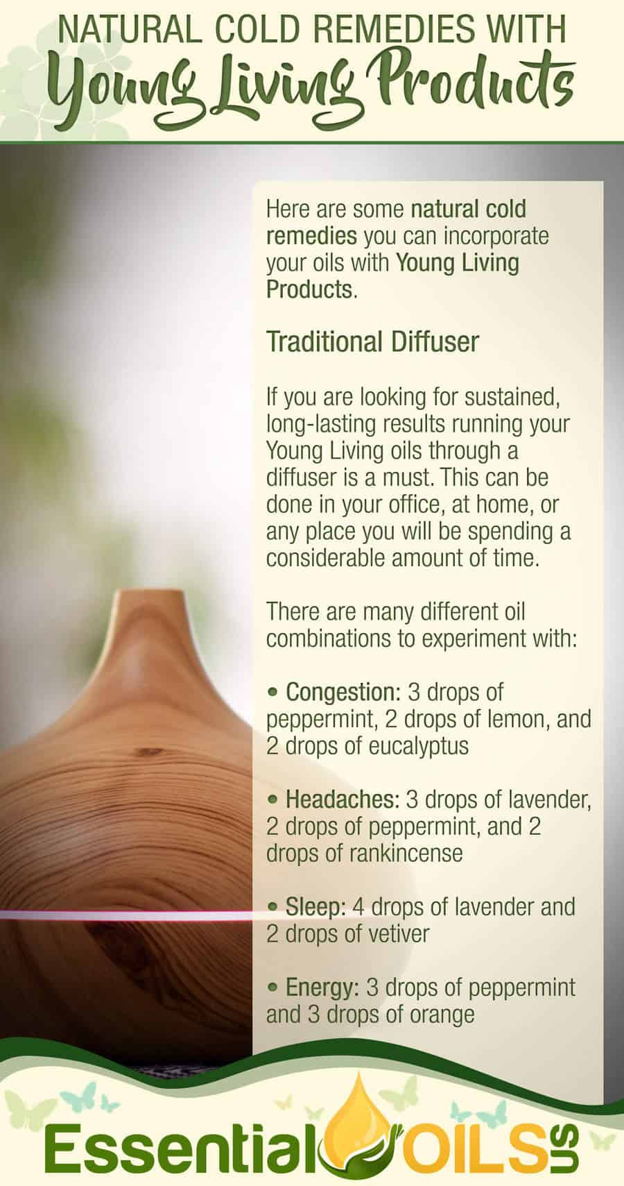 Natural Cold Remedies With Young Living - Traditional Diffuser