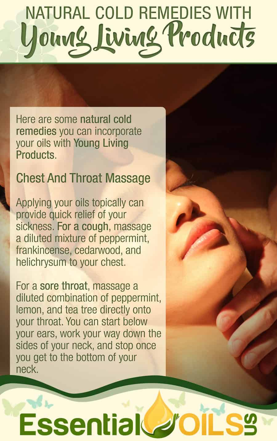 Natural Cold Remedies With Young Living - Chest & Throat Massage