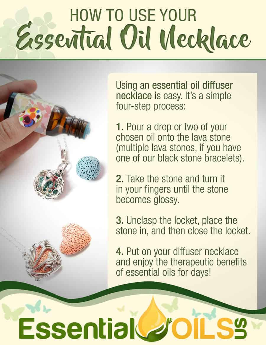 How to Use Your Essential Oil Necklace