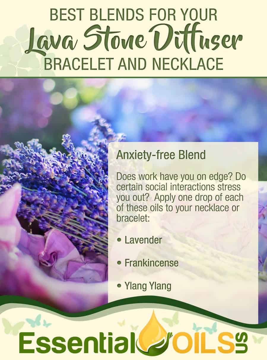 Blends for Diffuser Bracelet - Anxiety-Free Blend