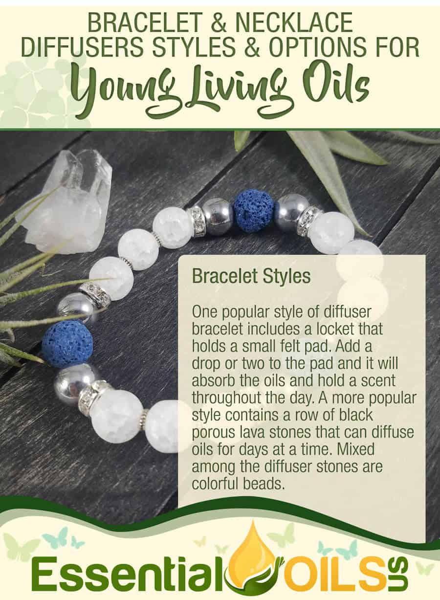 Diffuser Jewelry For Your Young Living Oils - Bracelet Styles