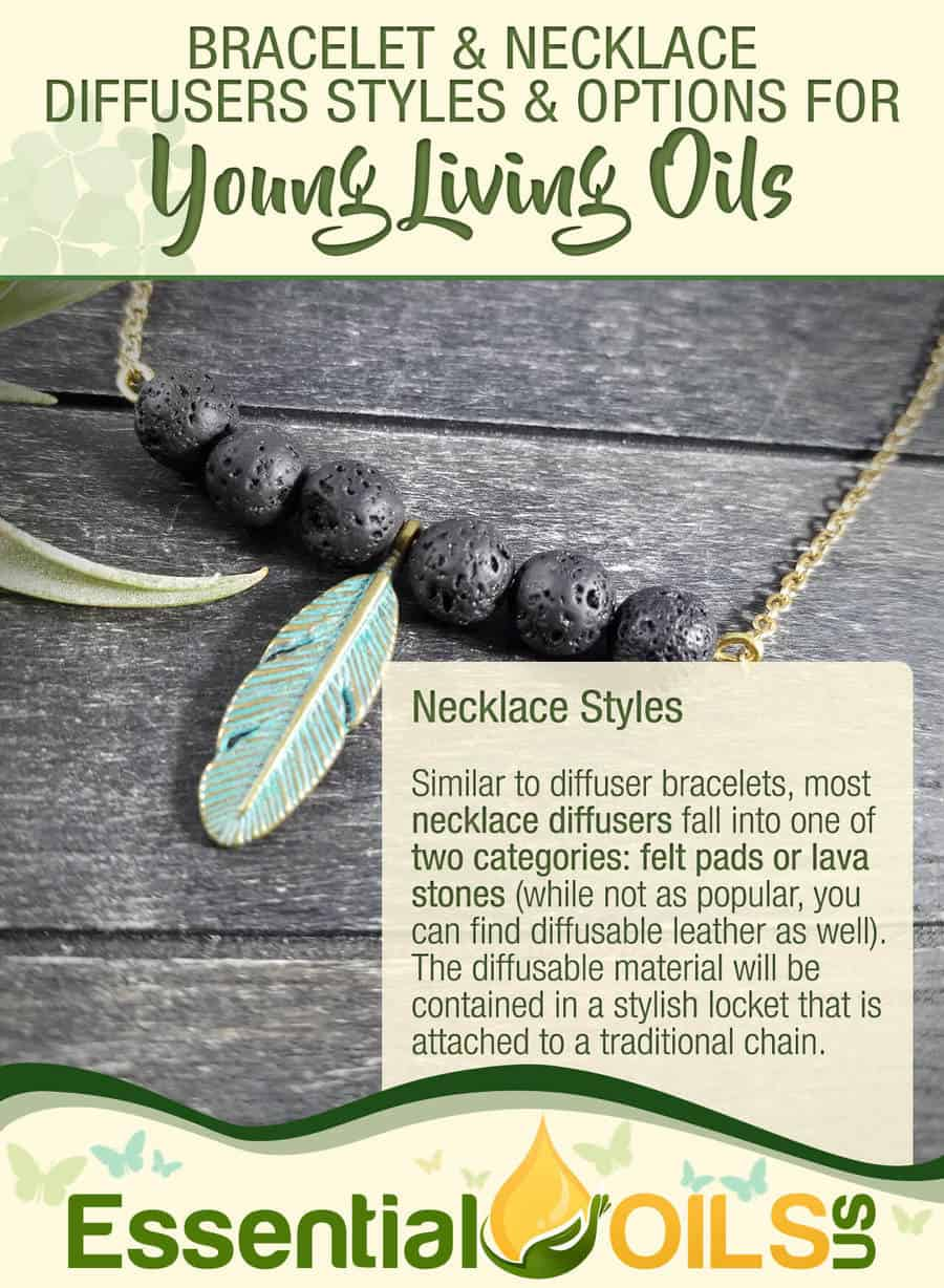 Diffuser Jewelry For Your Young Living Oils - Necklace Styles